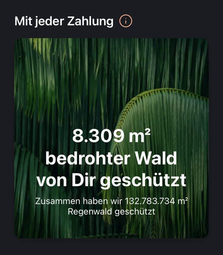 Mit tomorrow geschützter Wald