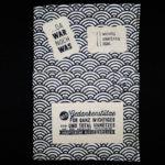 TetUp!ONE Notizbuch Schwarz-Weiß mit Stickern