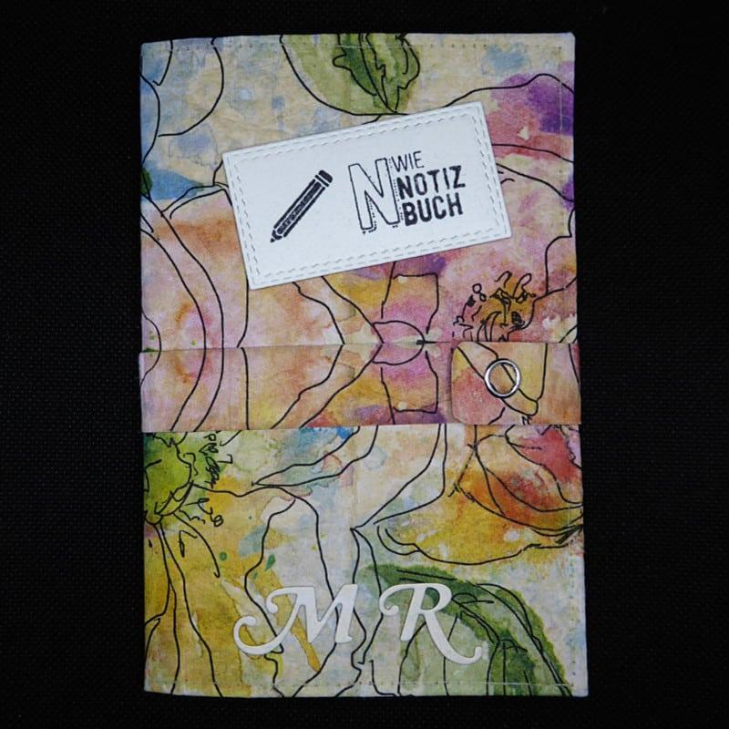 TetUp - Motiv Aquarellbluete - Notizbuch personalisiert