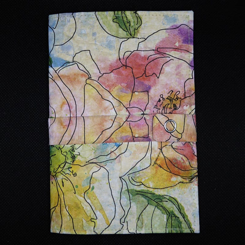 Notizbuch personalisiert - TetUp - Motiv Aquarellbluete