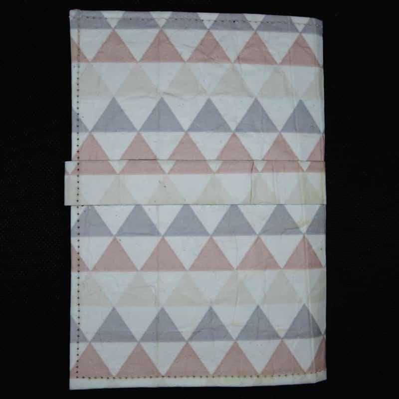 Notizbuch Dreiecke – TetUp Dreiecke Rueckseite
