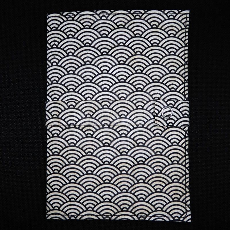 TetUp - Motiv Kreise - Notizbuch aus Milchtüte