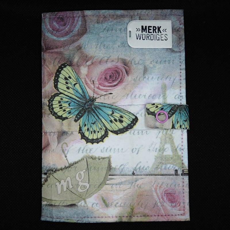 TetUp - Motiv Schmetterling - Reisetagebuch Frankreich
