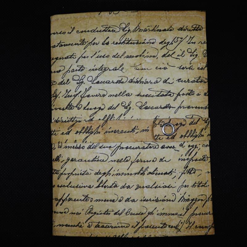 TetUp - Motiv Schrift - Notizbuch aus Milchtüte