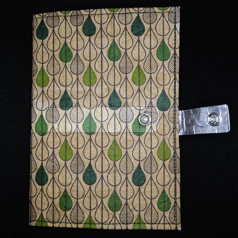TetUp - Motiv Tropfen - Notizbuch aus Milchtüte